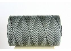 0,8mm Cenere Waxed Cord Spool