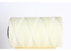 0,8mm White Waxed Cord Spool