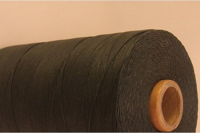 Black Cotton waxed Cord