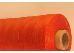 Dark Orange Cotton waxed Cord