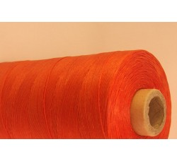 Dark Orange Cotton waxed Cord