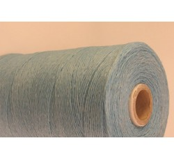 Light Blue Cotton waxed Cord
