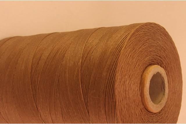 Light Brown Cotton waxed Cord