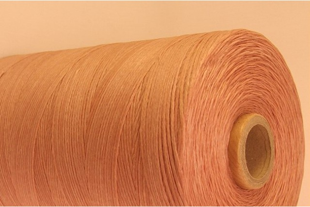 Light Pink Cotton waxed Cord