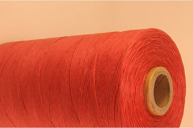Pink Cotton waxed Cord