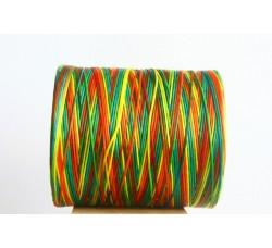 Multicolor waxed Cord