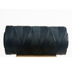 0,8mm Black Waxed Cord Spool