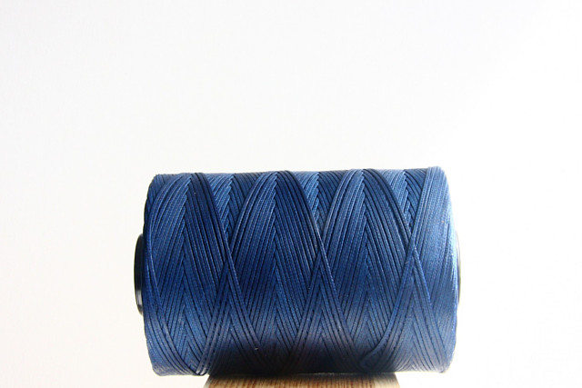 Blue Sport Waxed Cord Spool