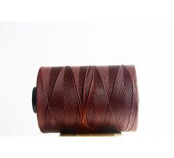 Cocoa Waxed Cord Spool