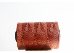 Cognac Waxed Cord Spool