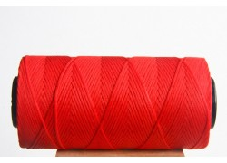 Red Waxed Cord Spool