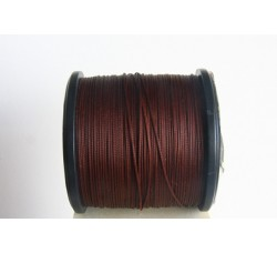 Cocoa Semi Waxed Cord