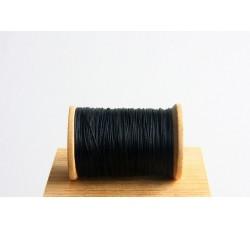 Black Semi Waxed Cord (0,4 mm)