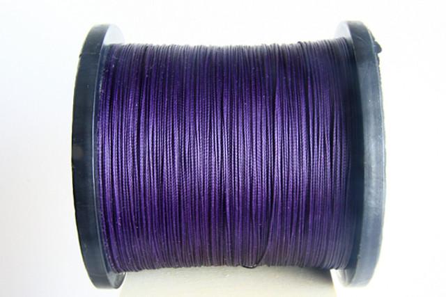 Purple Semi Waxed Cord (0,8 mm)