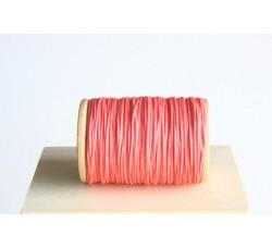 Rosa Semi Waxed Cord (0,8 mm)